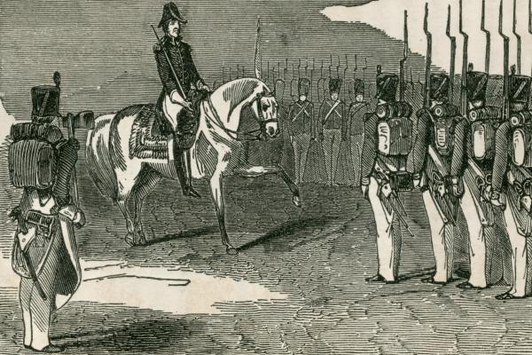 Andrew Jackson on horseback