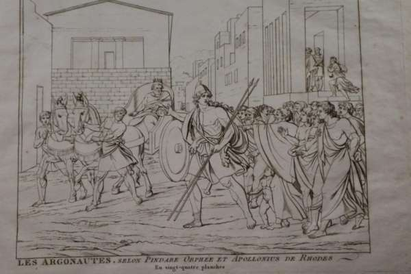 Title Engraving of Jason and the Argonauts
