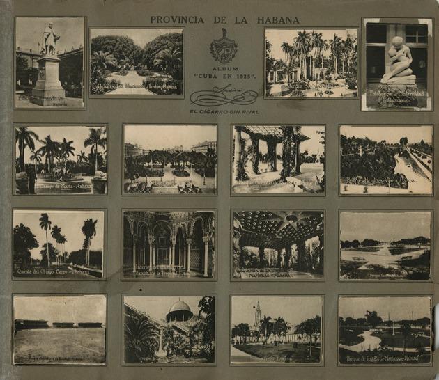 Cuba en 1925 photograph album.