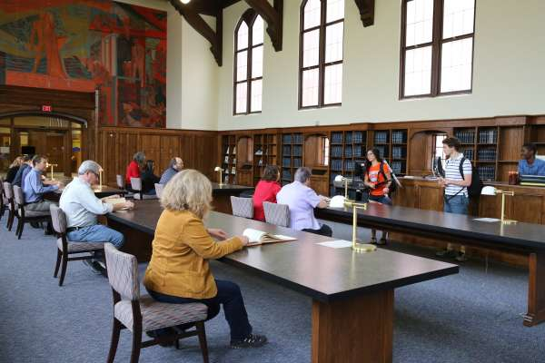 Smathers Library Grand Reading Room