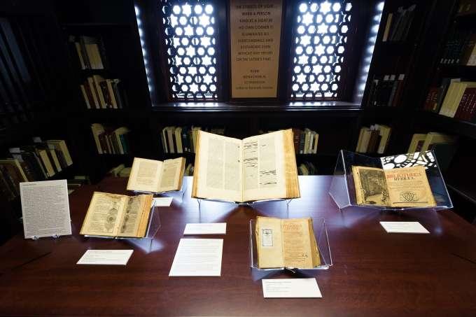 Price Library of Judaica Exhibit