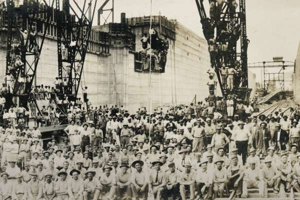 Panama Canal Workers
