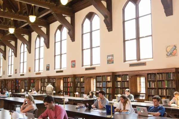 Researchers in the Grand Reading Room